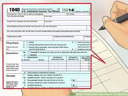 Federal Tax Table For 2014 How To Determine Your Federal Tax Bracket 8 Steps With Pictures