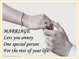 marriage quotes for him marriage lets you annoy