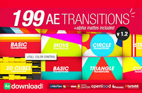 165 transitions pack v1 free videohive template free after