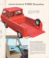 Vintage Ford Econoline Truck For Sale - ford econoline pickup features u0026 specifications vintage brochures