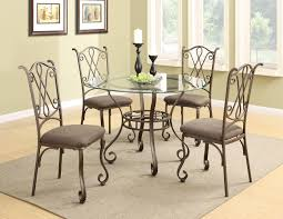 Metal Dining Room Sets by Durable And Magnificent Metal Dining Room Chairs Dining Chairs