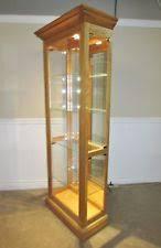 Curio Cabinets Shelves Oak Curio Cabinet Ebay
