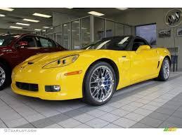 corvette zr1 yellow velocity yellow 2011 chevrolet corvette zr1 exterior photo