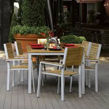 outdoor patio furniture set outdoor u0026 garden 11 piece outdoor teak patio furniture set with