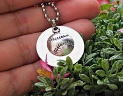 custom sted necklace custom baseball necklace best necklace design 2017