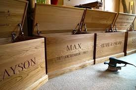 Making Wood Toy Boxes by A Personalised Wooden Toy Box Toy Box Fit For A Prince Mmss