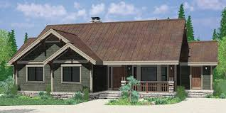 Craftsman House Designs One Level House Plans Single Level Craftsman House Plans 9940
