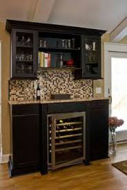 kitchen bar cabinets built in wine bar cabinets and countertops match ours build