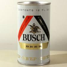 busch light aluminum bottles busch beer test can 229 06 at breweriana com