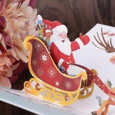 punch studio christmas tree cards 5 glitter dimensional gold white