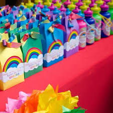 Rainbow Themed Birthday Favors by Bags Favors Last Day Of School Gift From My