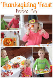 toddler approved thanksgiving feast pretend play