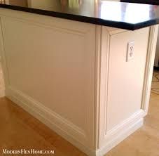 how to paint a kitchen island modern hen home