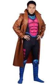 Dishonored Halloween Costume Marvel Gambit Costume Overcoat Unitard Gambit Cosplay