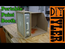 do it yourself photo booth build a portable spray paint booth for your workshop