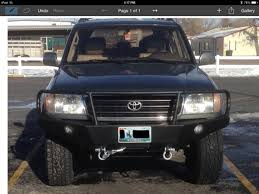 lexus gx470 front bumper 100 series front bumper build suggestions ih8mud forum