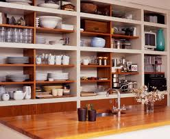 kitchen open shelving ideas feng shui open shelves ideas inspirationseek com