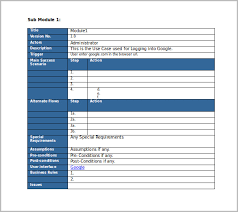 best ideas of use case template word 2010 for your layout