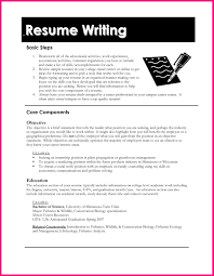 Example For Resume Writing by Resume Templates For Kids Template Design