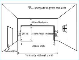size of 2 car garage garage door standard 2 car size beautiful liftmaster 10 x 7 with