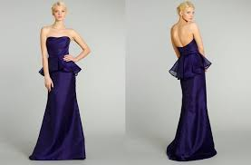 lazaro bridesmaid dresses dresses for stylish bridal noir by lazaro from jlm couture