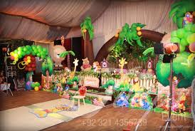 jungle theme birthday party disney jungle party ideas and decoration planner in pakistan