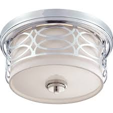 Flushmount Lighting Nuvo 60 4627 2 Light Dome Flush Mount Ceiling Light Harlow