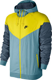 nike windbreaker windbreaker blue yellow