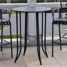 Bar High Top Table Wrought Iron Bar Height Table Foter