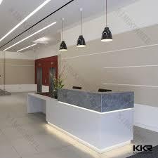 Luxury Reception Desk Restaurant Big Size Curved Reception Desk Hotel Luxury Bar Counter