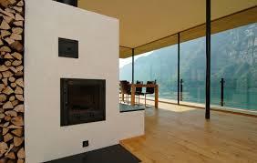 homes with modern interiors wohnhaus am walensee by k m architektur