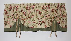 Tie Up Valance Curtains Tie Up Valances Curtains Window Toppers