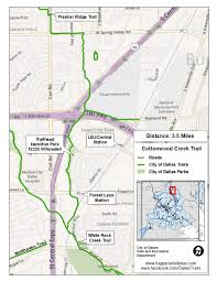 Dallas Traffic Map by Major Linear Trails Dallas Parks Tx Official Website