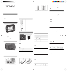 oregon scientific clock radio barm699a user guide manualsonline com