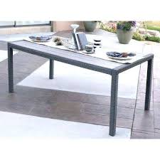 Grey Wicker Patio Furniture by Grey Wicker Outdoor Dining Table Walker Edison Patio Furniture
