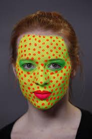 ben nye halloween makeup blacklight pop art halloween makeup video tutorial