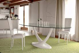 Oval Glass Dining Table Dining Room Decorations Glass Dining Table Oval Glass Dining