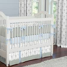 Turquoise Crib Bedding Set Furniture Lizandroo Poppybaby 4pc Pretty Grey Baby Bedding Sets