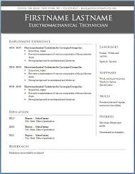 Format Resume On Word Professional Resume Template Word 2010 Jospar
