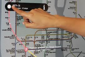 Map Of Nyc Subway System nyc subway installing smart touchscreen wayfinding system