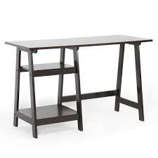 bonvivo designer desk massimo amazon com baxton studio mott dark brown wood modern desk with