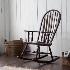 Wooden Rocking Chairs For Nursery by Solid Wood Indoor Rocking Chair Home Chair Decoration