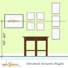 hanging picture height how to hang artwork the perfect height everytime no more