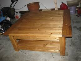 do it yourself home projects tryde coffee table with shelf do it yourself home projects from