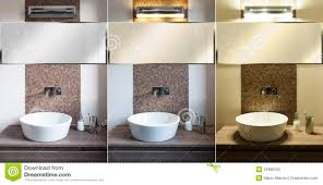 modern bathroom light different stock photos image 34982543