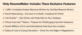 Free Resume Builder Online No Cost by Resumemaker Com Write A Better Resume Get A Better Job