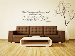 jeremiah 29 11 bible verse vinyl wall decal for i know the