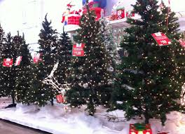 walmart trees white lights decoration