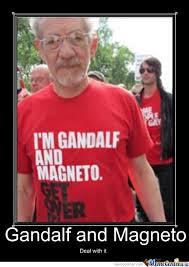 Over It Meme - i m gandalf and magneto get over it by bdv008 meme center
