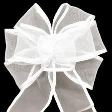 wedding bows sheer bows wired sheer bows handmade sheer bows for weddings